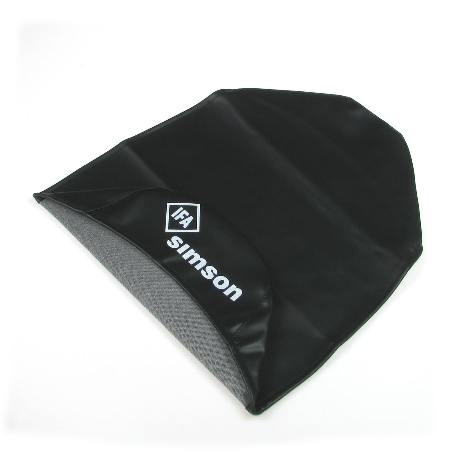 Sitzbezug SIMSON schwarz KR51//2 glatt f/ür S51 S70