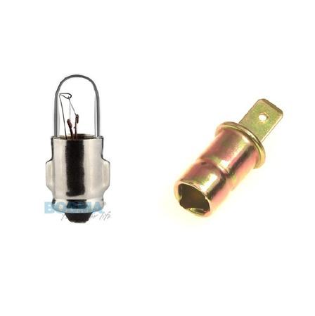 Lampenfassung f/ür Tachobeleuchtung passend f/ür S50 SR50 S51 SR4-1 bis SR4-4 KR51