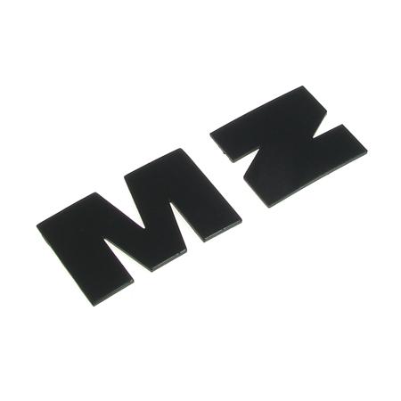 Buchstabe M Z Tank für MZ ETZ125 ETZ150 ETZ250 ETZ251 blau