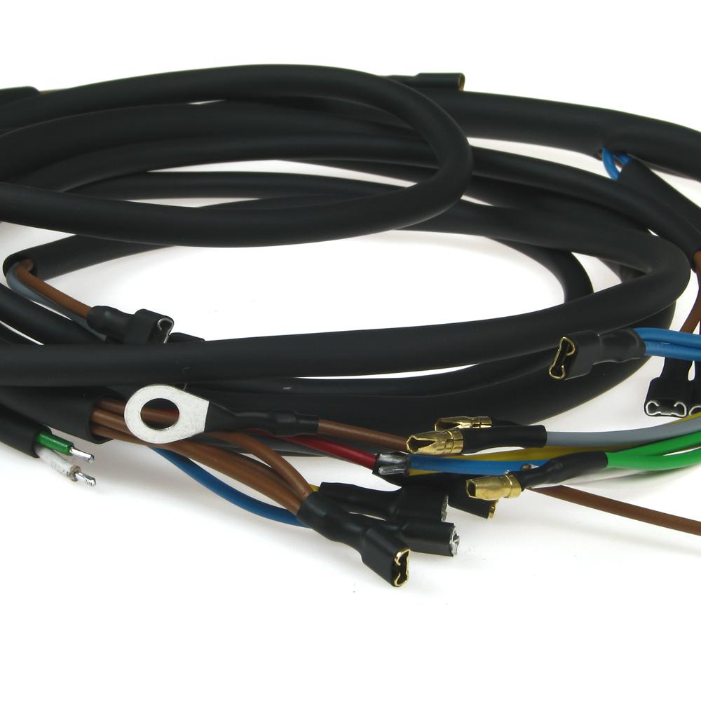 Kabelbaum für Hercules Prima 5S mit externe Zündspule | mit farbigen ...