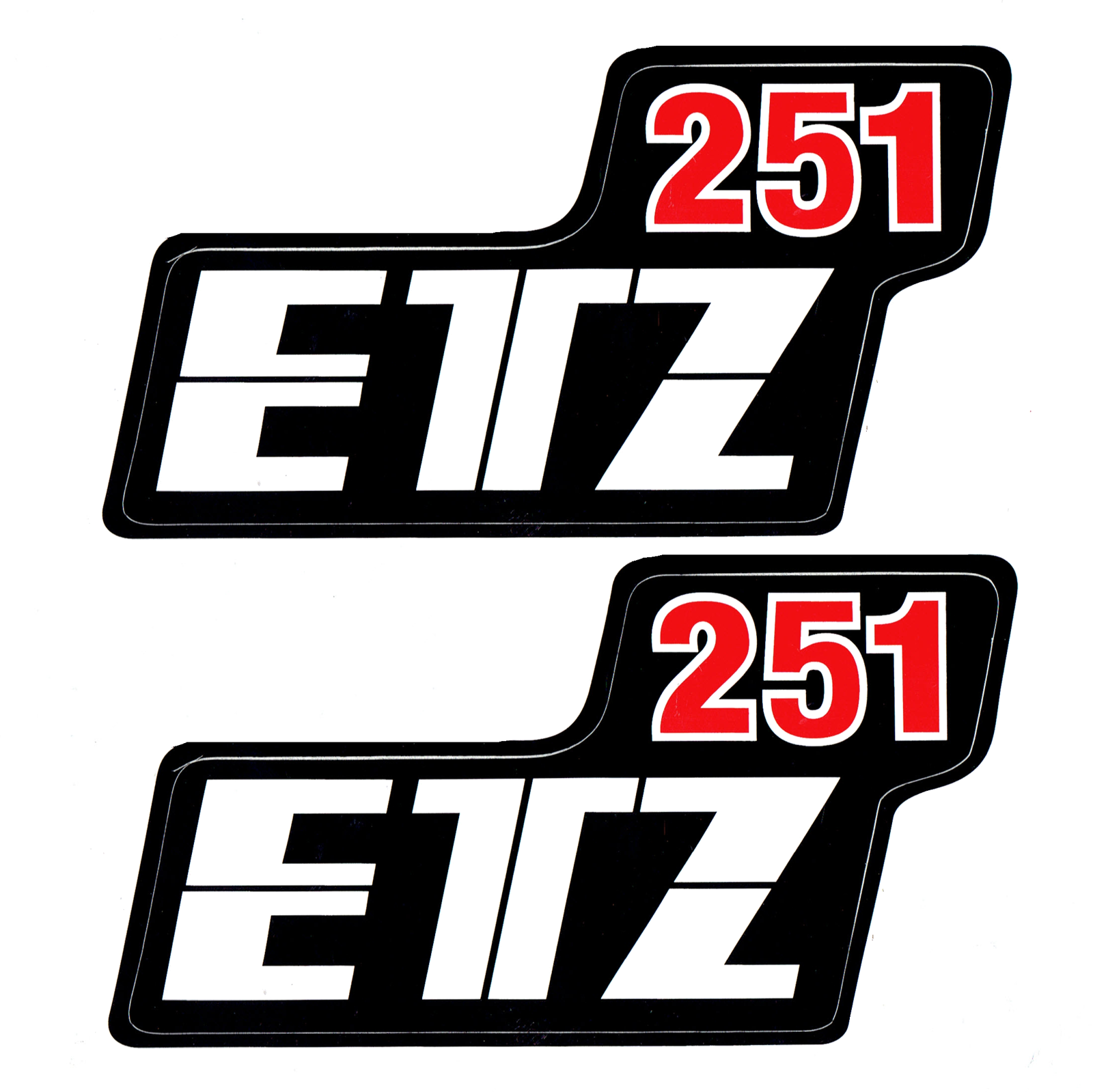 Aufkleber MZ ETZ 251