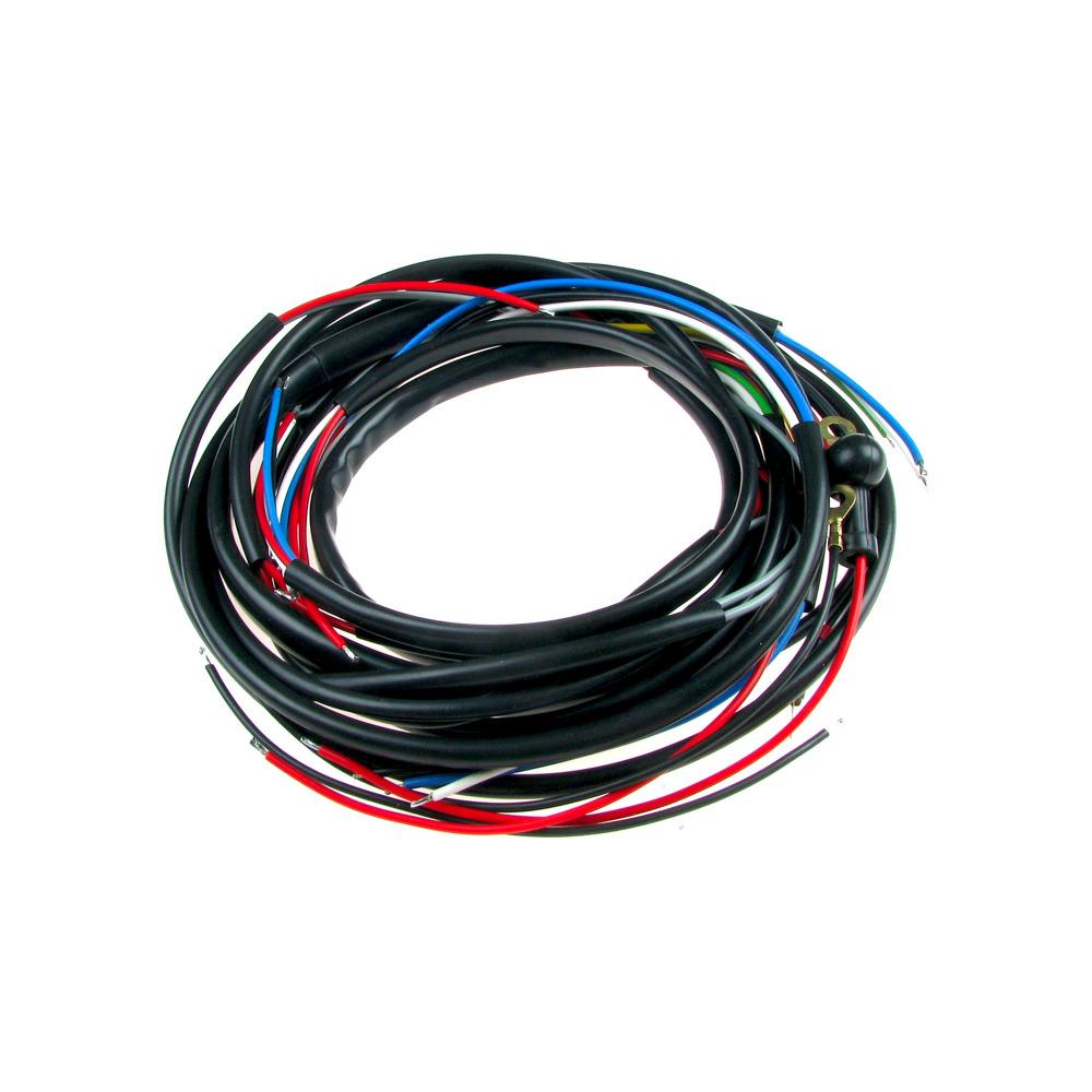 Kabelbaum für SIMSON AWO 425 SPORT mit Bremslicht | mit farbigen ...