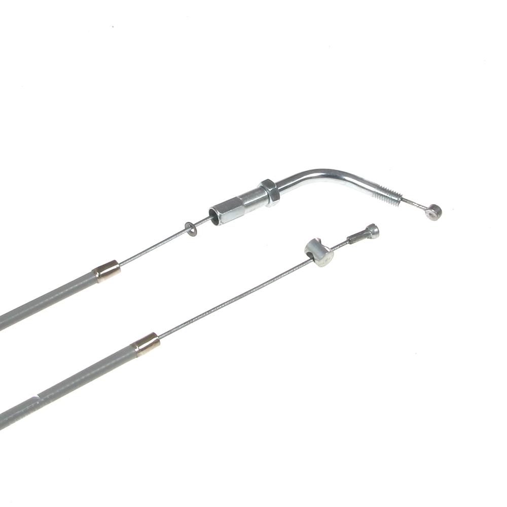 SR2E grau komplett Bowdenzugsatz SIMSON SR2 4-teilig